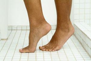 shower-feet