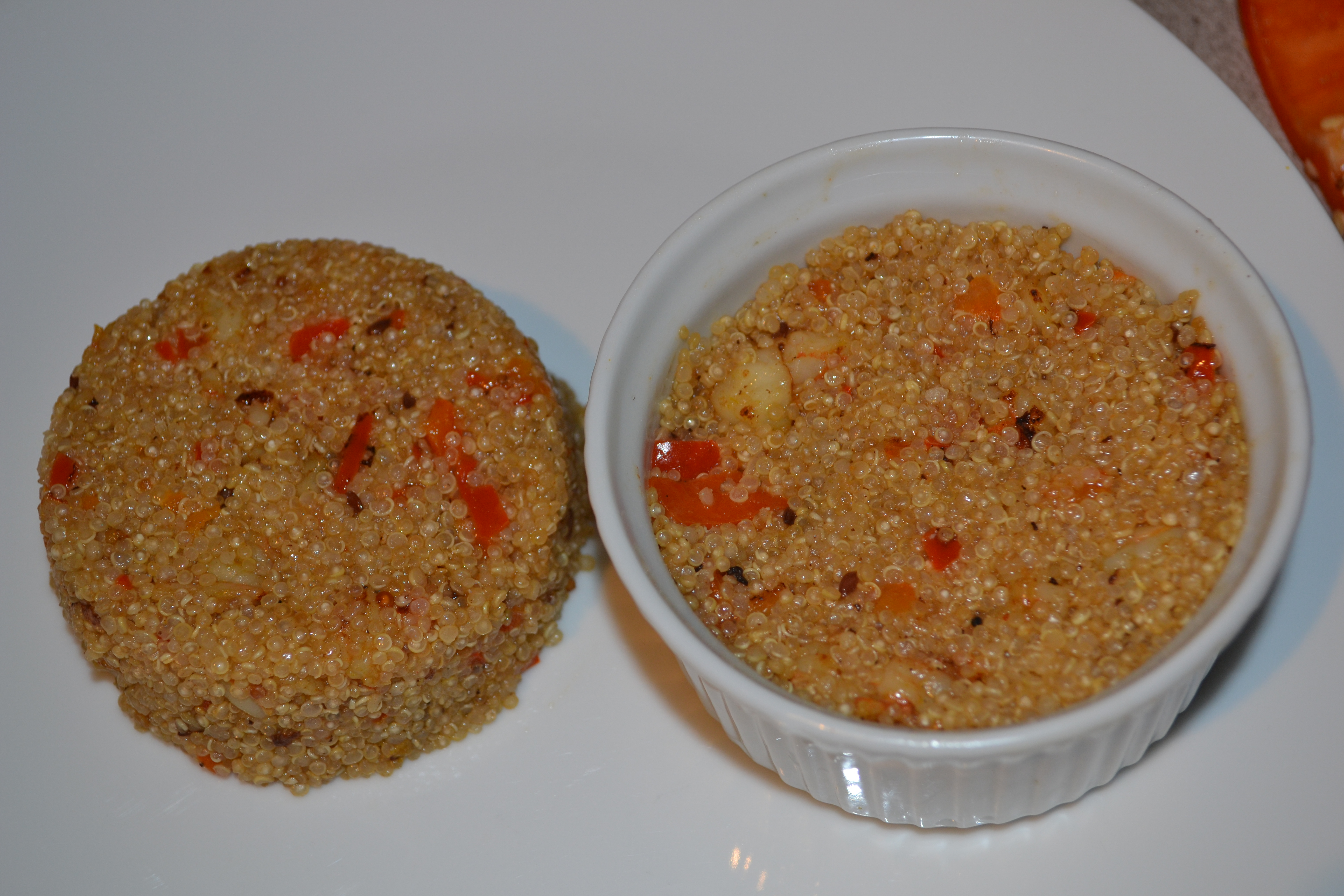 Curry Shrimp Quinoa w/ Roasted Red Peppers (Healthy & Diabetic ...