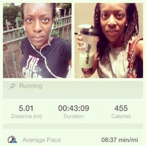 August Run 5miles